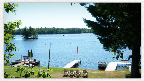Welcome to Lueth Landing Resort on Lake Alice in Tomahawk